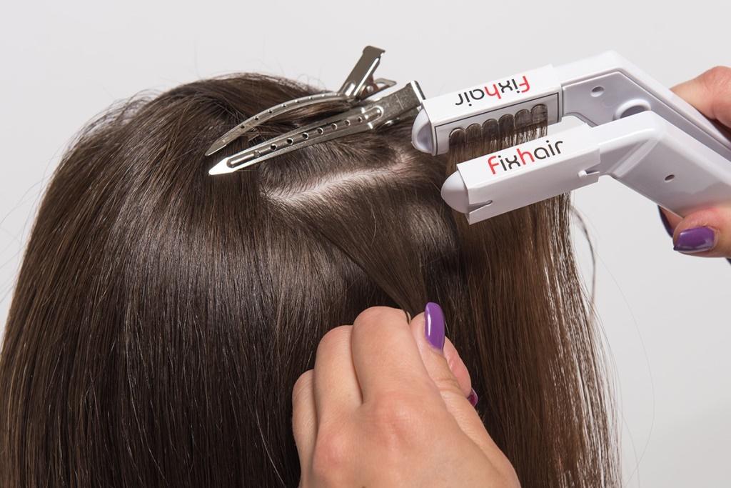 Презентация наращивания волос